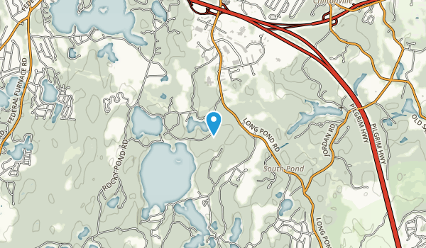 South Triangle Pond Natural Heritage Area Map