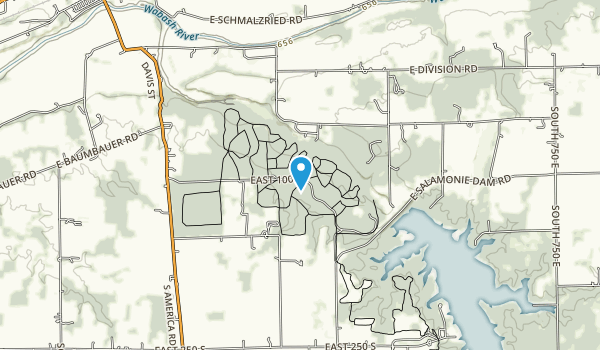 Salamonie River State Forest Map