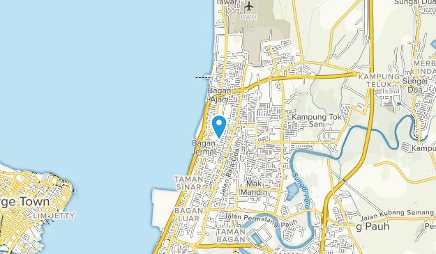 Penang Island Map