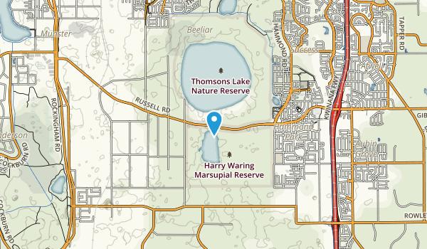 Thomsons Lake Nature Reserve Map