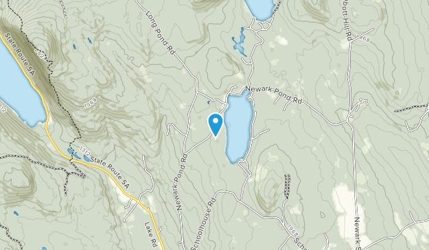 Newark Pond Natural Area Map