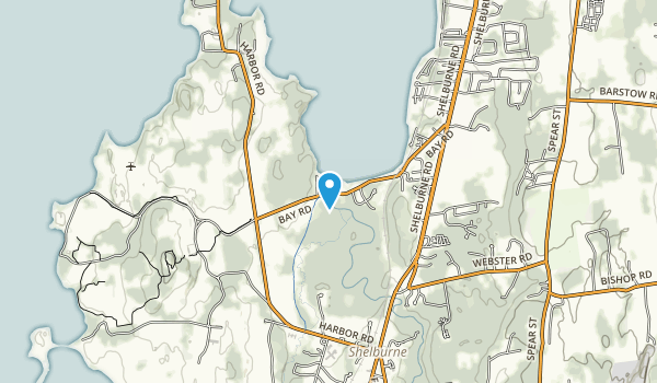 LaPlatte River Marsh Natural Area Map
