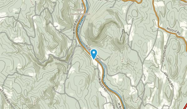 Black Mountain Natural Area Map