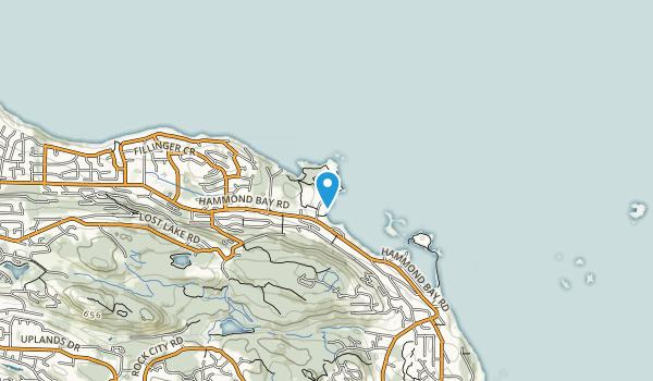 Neck Point Park Map