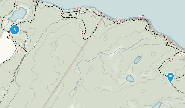 Bruce Peninsula National Park Map