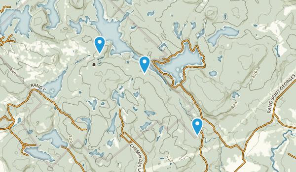 Parc Naturel Régional de Porneuf Map