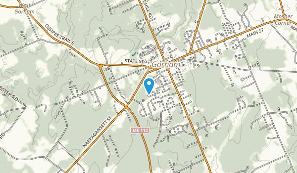 Gorham Trails - High School Parcel Map
