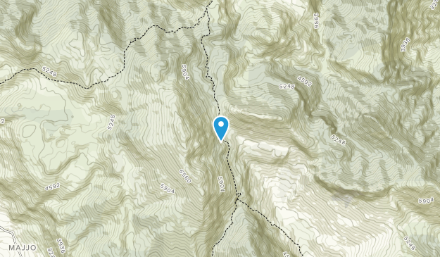 Talassemtane National Park Map