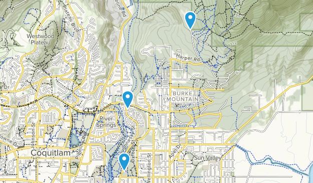 Coquitlam River Park Map