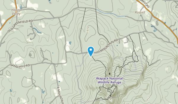 Wapack National Wildlife Refuge Map
