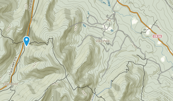 Indian Head Wilderness Map