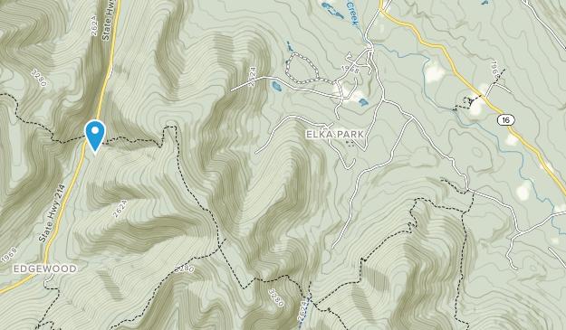 Indian Head Wilderness Map