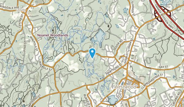 Westwood Land Trust Map