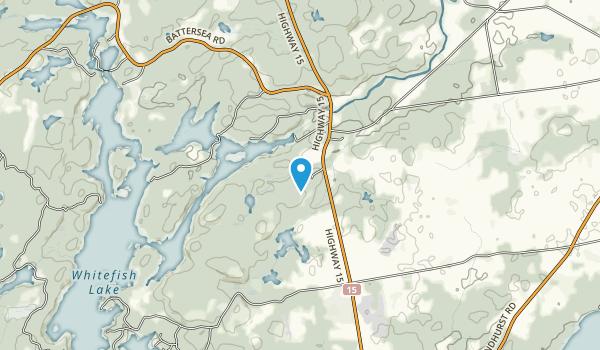 Rideau Waterway Land Trust Map