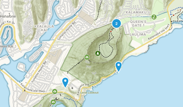 Koko Crater Regional Park Map