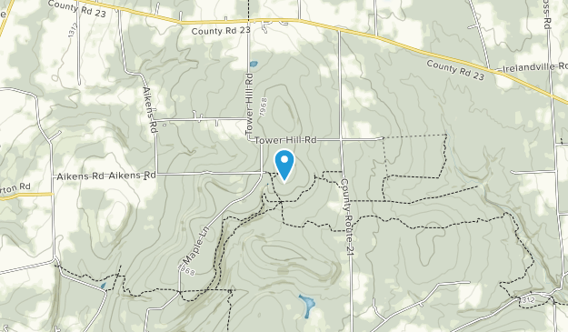 Sugar Hill State Forest Map