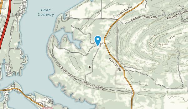 Camp Robinson Wildlife Management Area Map