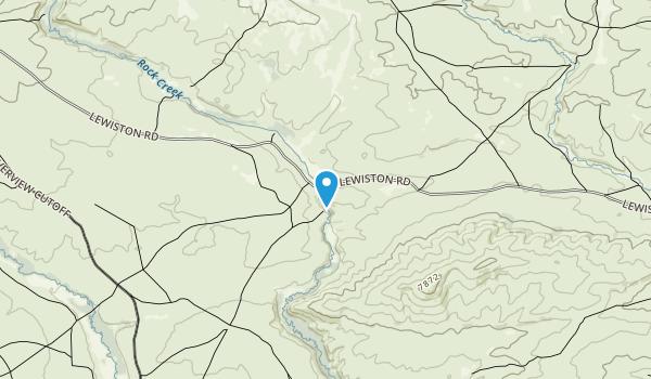 Rock Creek Hollow Historic Site Map