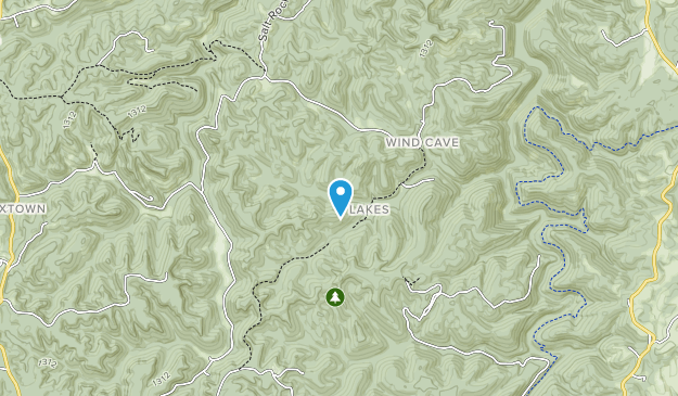Cumberland National Forest Map