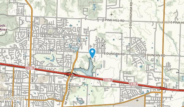 Lake Rememberance Park Map