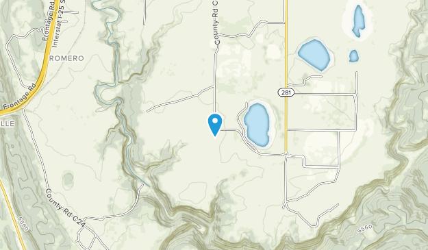 Las Vegas National Wildlife Refuge Map