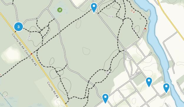 Ferguson Forest Centre Map