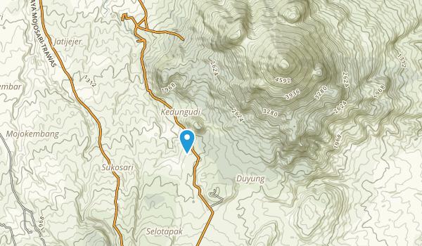 Perhutani Trawas Map