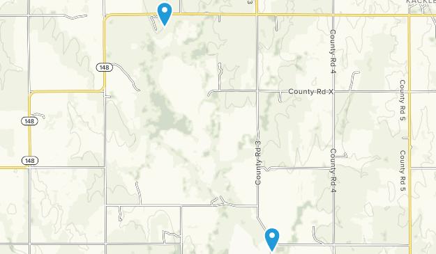 Jamestown Wildlife Area Map