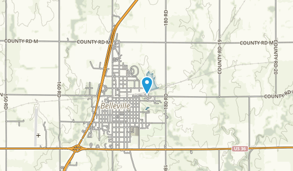 Rocky Pond Recreational Area Map