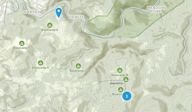 Summit Bechtel Scout Reserve Map