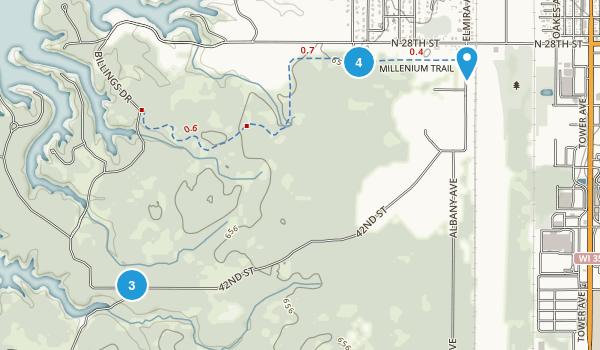 Superior Municipal Forest Map