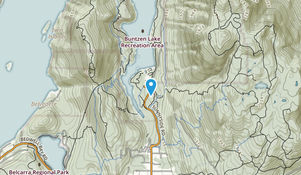 Indian Arm Provincial Park Map