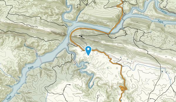 Parque Nacional de Monfrague Map