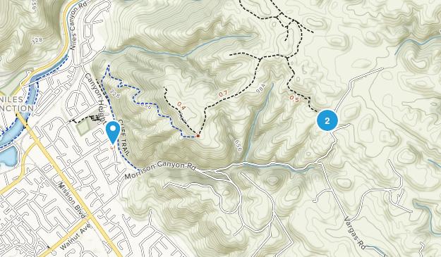 Vargas Plateau Regional Park Map