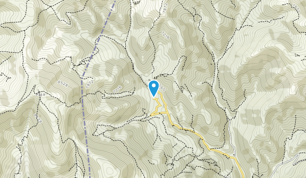 Aghveran National Park Map