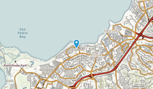 Pinole Shores Park Map