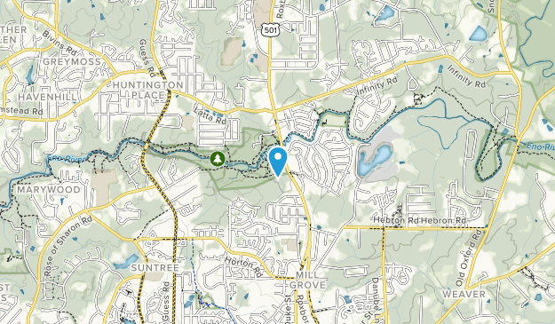 West Point on the Eno Map