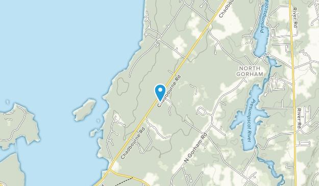 Sebago to the Sea Trail Map