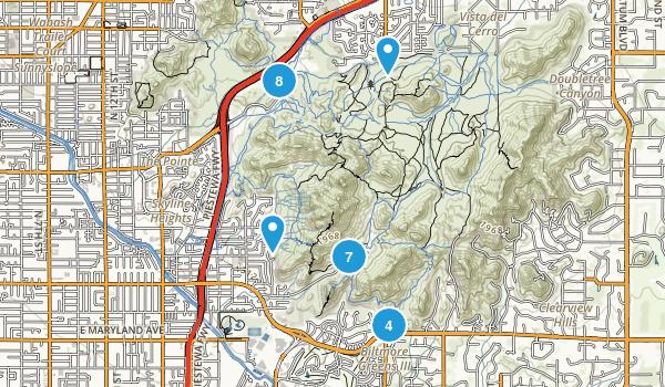Phoenix Mountains Preserve Map