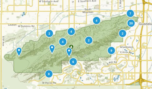 South Mountain Preserve Map