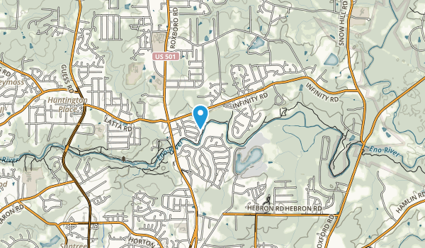River Forest Park Map