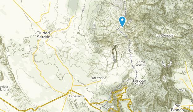 Citlaltepetl Map