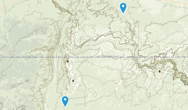Paria Canyon-Vermilion Cliffs Wilderness Area Map