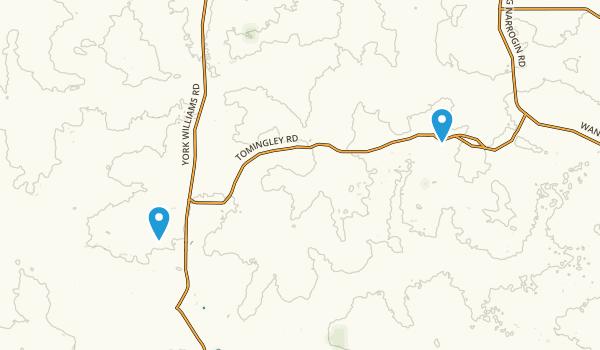 Dryandra Forest Map