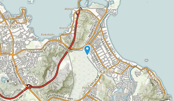Kawai Nui Marsh Map