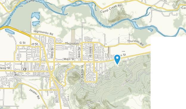 Thurston Hills Natural Area Map