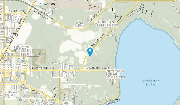 Sunland Center State Park Map