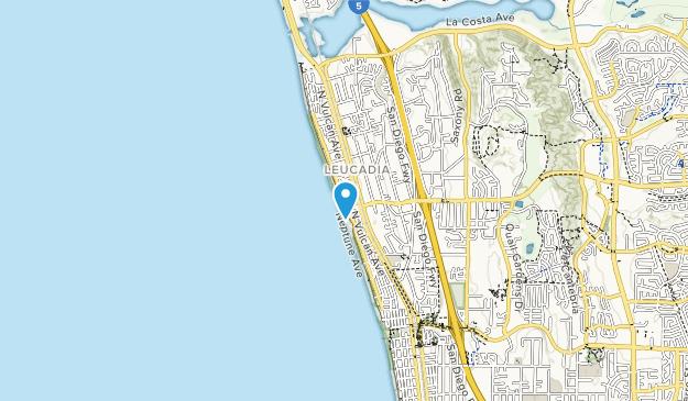 Ponto State Beach Map