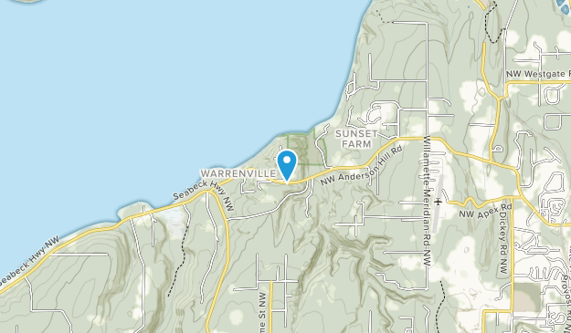 Anderson Landing Preserve Map