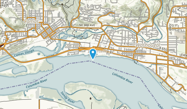 Washougal Waterfront Park Map